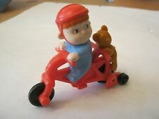 Hardee's Meals Toy Babblin Boo & Mickey On Bicycle, 1997 (010-4)