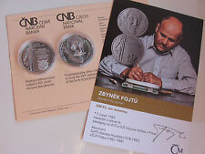 República Checa 2016 200 coronas moneda de plata coin St bu-jan Jessenius -