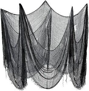 Halloween Creepy Cloth Halloween Decorations Gauze Cloth Black Haunted House