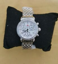 Michele Diamond 7 link breclet Watch Cronograph Orig price  $1895 & other expens