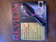 Revlon PRO Collection Salon One Step Hair Dryer and Volumizer Brush Pink OPENBOX
