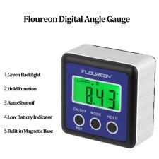 Digital Level Box Gauge LCD Angle Finder Waterproof Protractor Magnetic Base UK