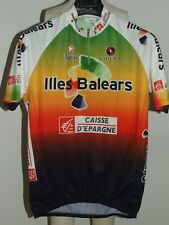 Bike Cycling Jersey Maillot Shirt Cyclism Team Balearic Islands NALINI Size XL