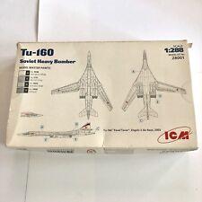 Icm Holding TU160 Soviet Heavy Bomber 1/288 Scale Kit 28001 Pavel Taran TY160