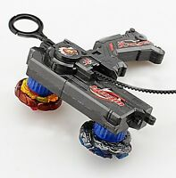 Kids Beyblade Duotron Master Launcher For Double Bey Metal Spinning Top Game New