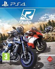 Ps4 juego Ride 1 carreras de motos para Sony PlayStation 4 Artículo nuevo