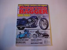 Motorcycle Bagger January/February 2014--Harley-Davidson builds, 14 Victory line