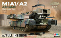 Ryefield-Model 1/35 5007 US MBT M1A1/A2 Abrams w/Full Interior