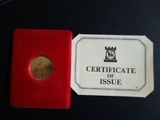 "Macau 500 Patacas 1979 ""Year of the Goat"" Polierte Platte Gold"