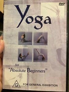 Yoga For Absolute Beginners region 4 DVD (exercise / fitness / health)