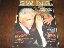 SWING 09 (10/86) EURTYTHMICS OMD RITA MITSOUKO LIO JULIEN CLERC MADONNA DC LEE