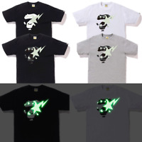 [S-3XL] A BATHING APE Men's CITY CAMO APE FACE ON BAPESTA TEE 4colors Japan New