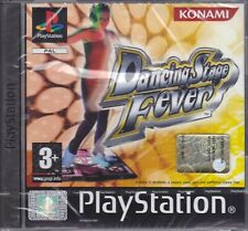 Ps1 PlayStation PsOne Psx DANCING STAGE FEVER nuovo italiano sigillato custodia