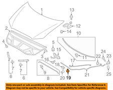 MITSUBISHI OEM 02-17 Lancer Hood-Support Rod Clip MR523317