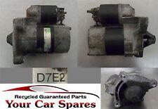 Peugeot 307 Starter Motor 1.6 Manual D7E2