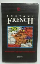 Instant French Cassette Tapes Zygon Accelerated Language Learning System 1992