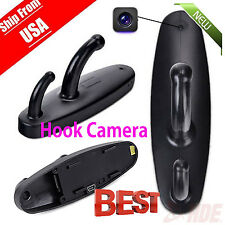 Spy Camera Motion Detection Hidden Clothes Hook DVR Nanny Babysitting Cam Q