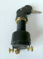 Ignition Starter Switch. Heavy Duty, Three (3) position. Comes with 2 keys.