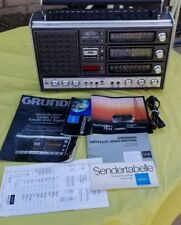 Vintage Grundig Satellit 3000 Prefessional World Radio FM AM SW MW Works Boombox