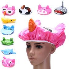 Cartoon animal douche casquette chapeau bain imperméable enfants voyage