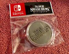 Super Smash Bros Ultimate for Switch Limited Edition Collectors Coin BRAND NEW!