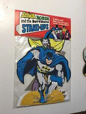 Batman vintage 5 piece stand ups set sealed in pack 1970s