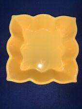 "Chantal Talavera Bakeware Gold Casserole 1.5 Quart Dish Scalloped 8"""