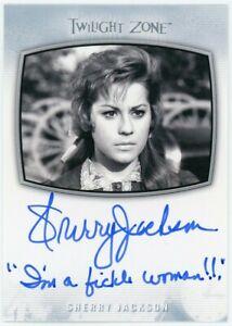 2020 Twilight Zone Archives Edit AI-37 Sherry Jackson Inscription Autograph <100