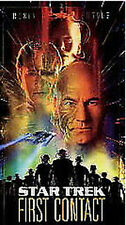 Star Trek: First Contact (1997, VHS)