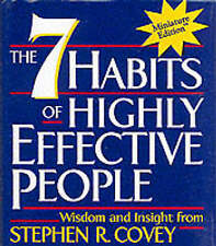 The 7 Habits of Highly Effective People by Stephen Covey (Hardback, 2000)