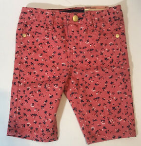 NWT Tommy Hilfiger Sunkist Coral Bermuda  Shorts Girl's Size 2T