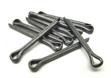 "10 x 7/64"" x 3/4"" SPLIT COTTER PINS STEEL MADE IN ENGLAND FREE 1st CLASS POST"