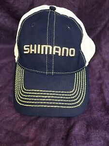 Shimano Blue Green Mesh  Hat Cap Adjustable Free Shipping