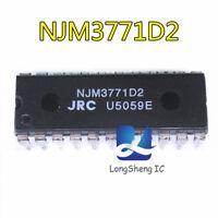 10pcs NJM3771D2 DIP-22 650 mA Output 10 to 45 V new