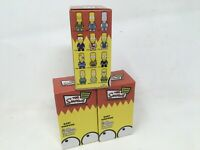 """3 Bart Simpson 3"""" Qee Simpsons Toy2R Mania Series Collectible Figure Rare Ltd"""