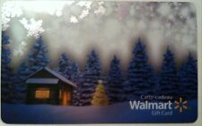 NEW Walmart 2016 HOLIDAY GIFT CARD CHALET RECHARGEABLE BILINGUAL ! NICE!