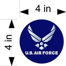 US AIR FORCE car & truck vehicle decals/stickers