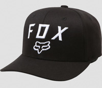 FOX RACING MENS BLACK LEGACY MOTH 110 SNAPBACK HAT LOGO MX OFF ROAD DIRT BIKE OS