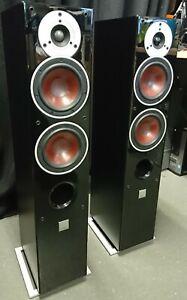 Dali Zensor 5 SLim Floorstanding Speaker Pair in Black Ash - Collection Only