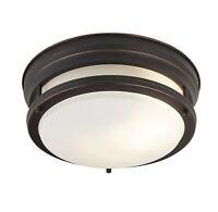 Lámpara de Techo Opalino Braun Mesa Comedor Pasillo Cocina LED