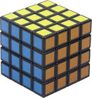 "Внешний вид - 2.3"" 4 PC Rubik's Cube Shape Aviation Tobacco Herb Spice Grinder Smoke Crusher"