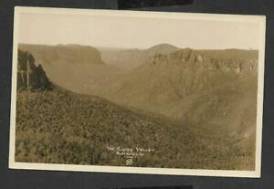 The Grose Valley, Blackheath, Australia - Real Photograph - Ref 18804