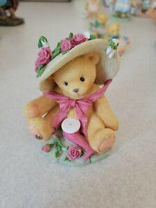 "1997 Enesco Cherished Teddies Avon Janet ""You're Sweet As A Rose"" 336521. No Box"