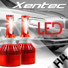 Pair H4 9003 HB2 488W 48800LM CREE LED Headlight Car Kit Hi/Lo Beam Bulbs 6500K