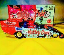 NHRA Jim Epler 1:24 Diecast NITRO Funny Car MOTLEY CRUE Drag Racing TOP FUEL