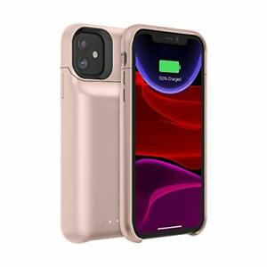 Mophie - Ultra-Slim Wireless Charging Battery Case - iPhone 11 - Blush Pink