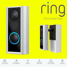 Ring Door View Cam - Door Peephole Camera HD Video Two-Way Talk Cam BNIB