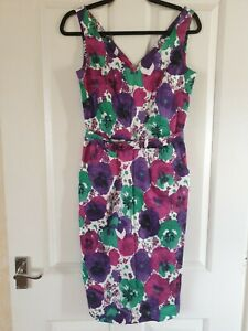 LAURA ASHLEY Womens Size 8 Fab Occasion Dress Floral