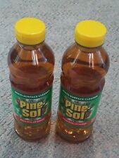 Set of 2 Pine-Sol Multi-Surface Cleaner Liquid 24 oz Pine Scent Deodorizes 97326