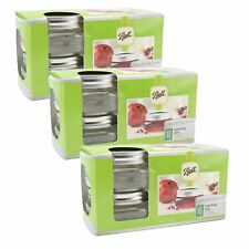 Ball Collection Elite Half Pint Jars, Wide Mouth, Set of 12